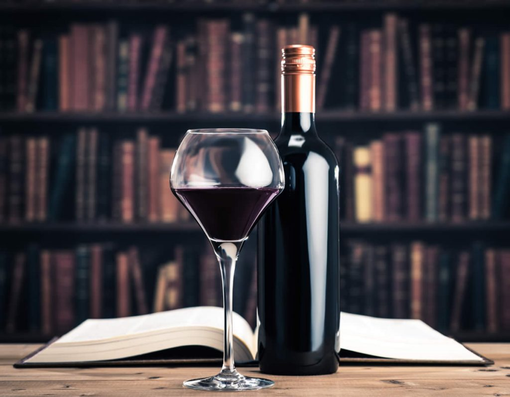 fine wine and book pairings