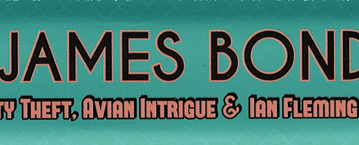 Header image with book title, The Real James Bond