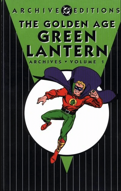 Cover of the Golden Age Green Lantern Archives Vol. 1