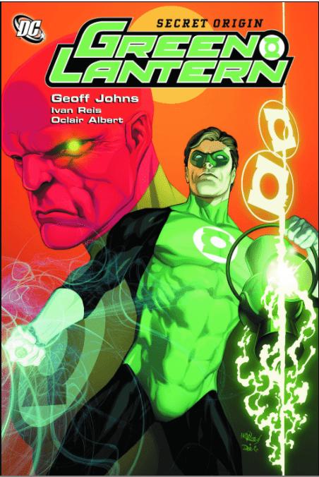 Book cover for Secret Origin Green Lantern by Geoff Johns