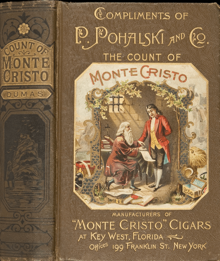 Cover image for The Count of Monte Cristo by Alexandre Dumas