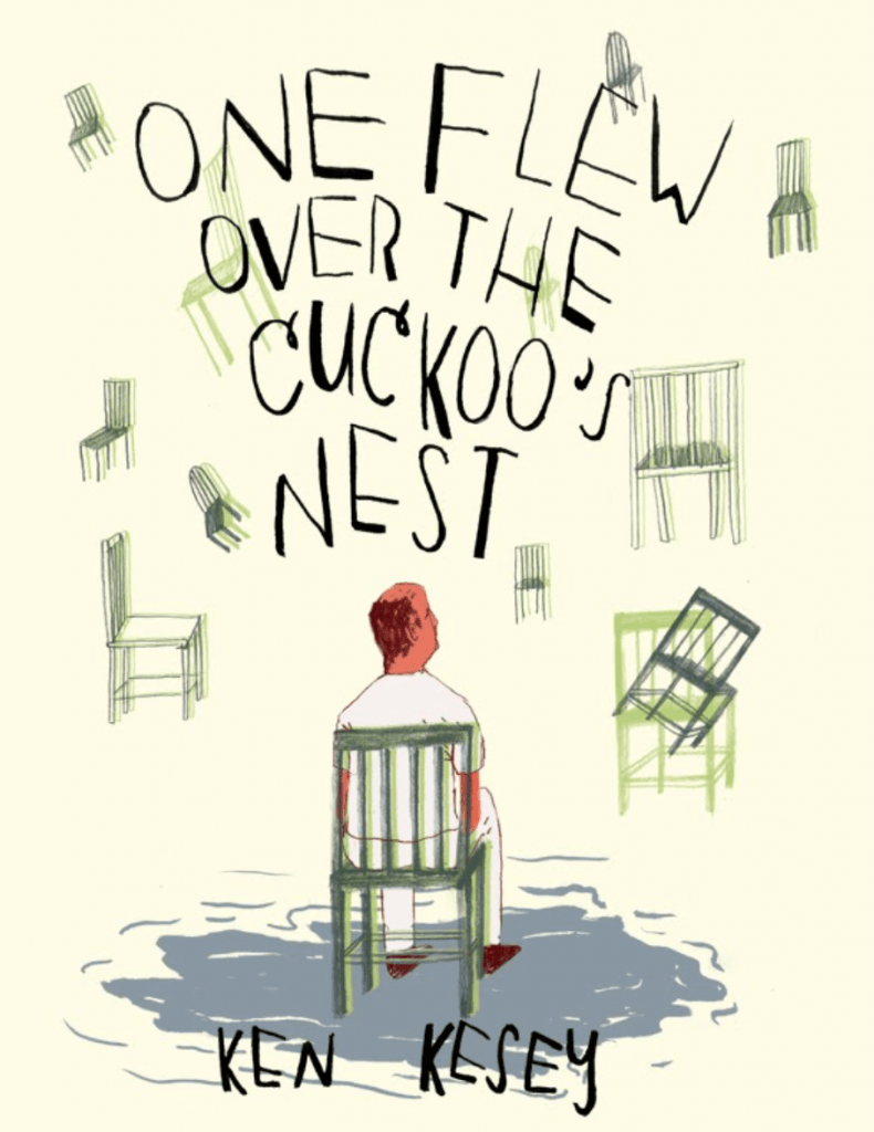 Cover image for One Flew Over the Cuckoo's Nest by Ken Kesey