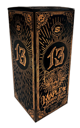 Box for the Surly 13 beer.